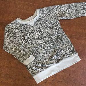 Carter's leopard tunic-length sweatshirt